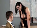 La puta de la profesora está demasiado caliente - Actrices Porno