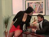 La mujer del jefe es una puta caprichosa - Morenas