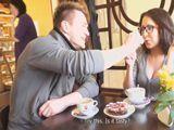 Tonteando con mi cuñada en la cafetería - Cuñadas