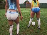 ¿Con quien vas, Brasil o Argentina? - Culos