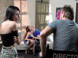 Asistimos a la grabación de una escena porno - Actrices Porno