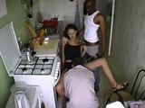 Mi marido y el vecino negro me follan - Trios