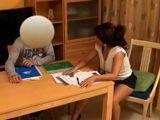 Mirar como la profesora se liga a su alumno - Españolas